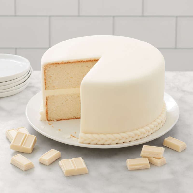 White Chocolate-Flavored Fondant for Cake Decorating, 24 oz. image number 4