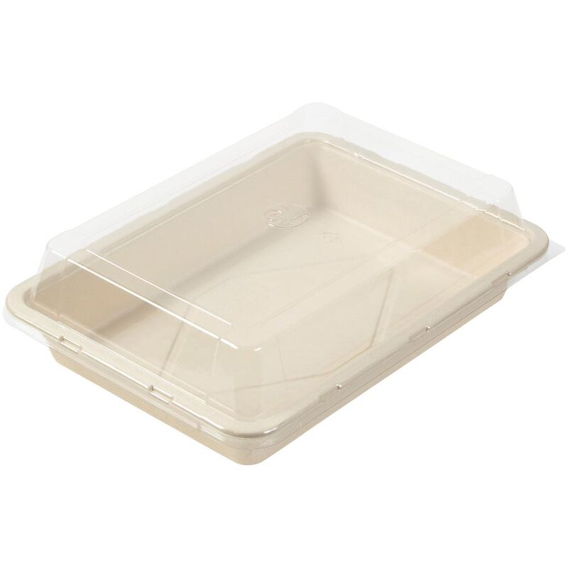 Disposable Oblong Baking Pan with Lid, 9 x 13-Inch image number 0