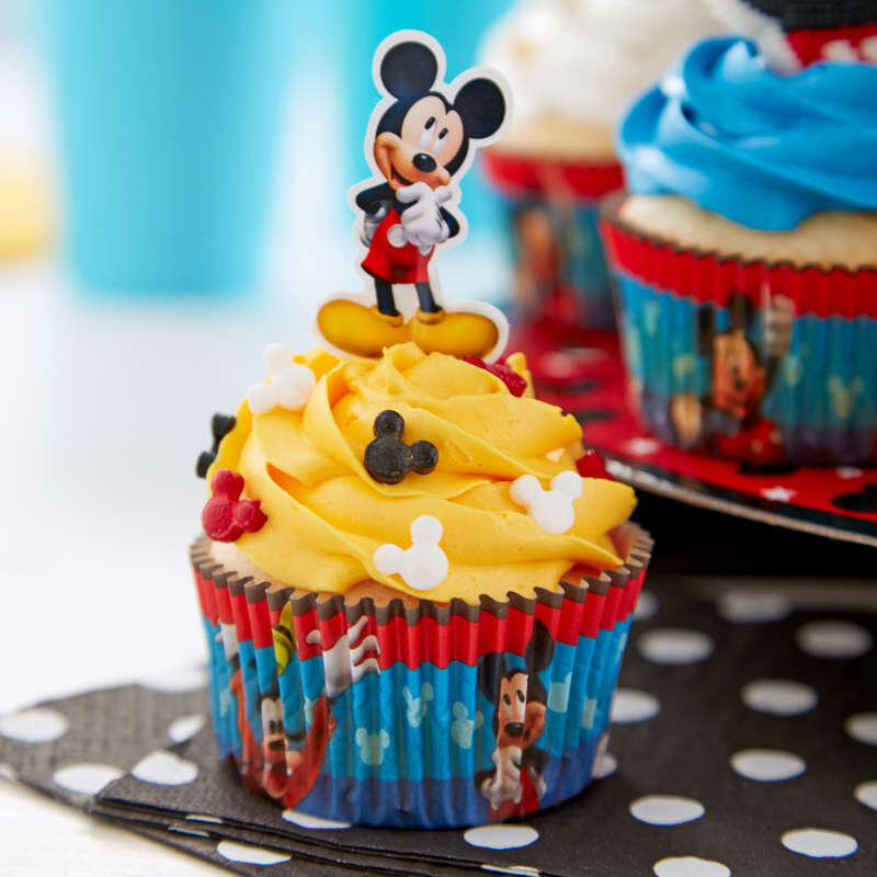 Mickey Mouse Cupcakes image number 4
