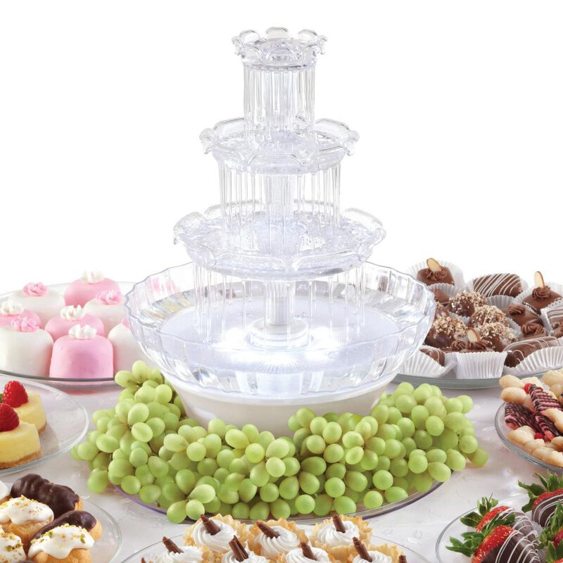 Fanci Flow Tabletop Fountain - Wedding Cake Fountain image number 4