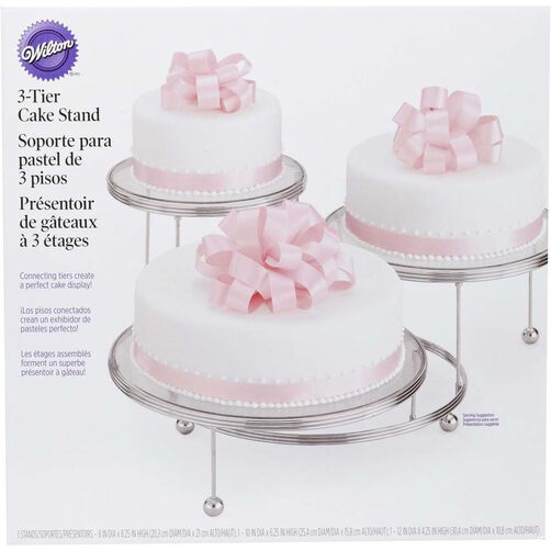 Cakes N More 3 Tiered Party Stand Wilton