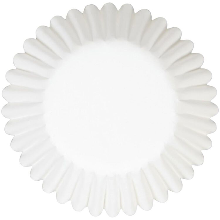 White Mini Cupcake Liners, 350-Count