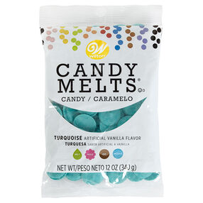 Turquoise Candy Melts Candy, 12 oz.