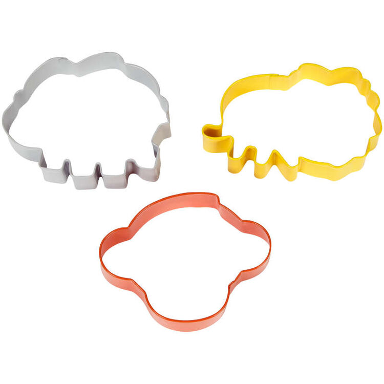 Animal Cookie Cutter Set Side View