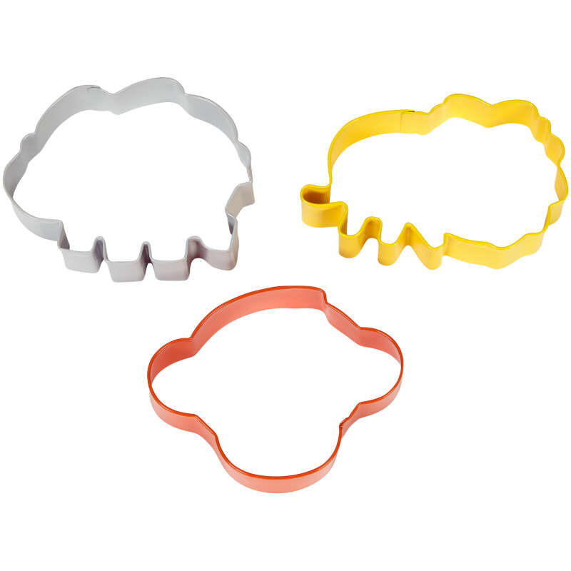 Animal Cookie Cutter Set Side View image number 2
