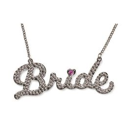 Rhinestone Bride Necklace