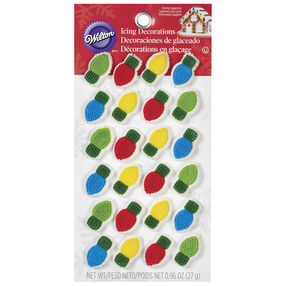 Wilton Light Bulb Candy Decorations