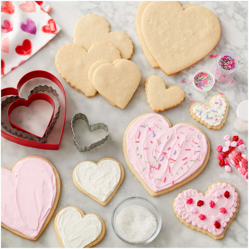 Nesting Heart Cookie Cutter Set, 4-Piece image number 3