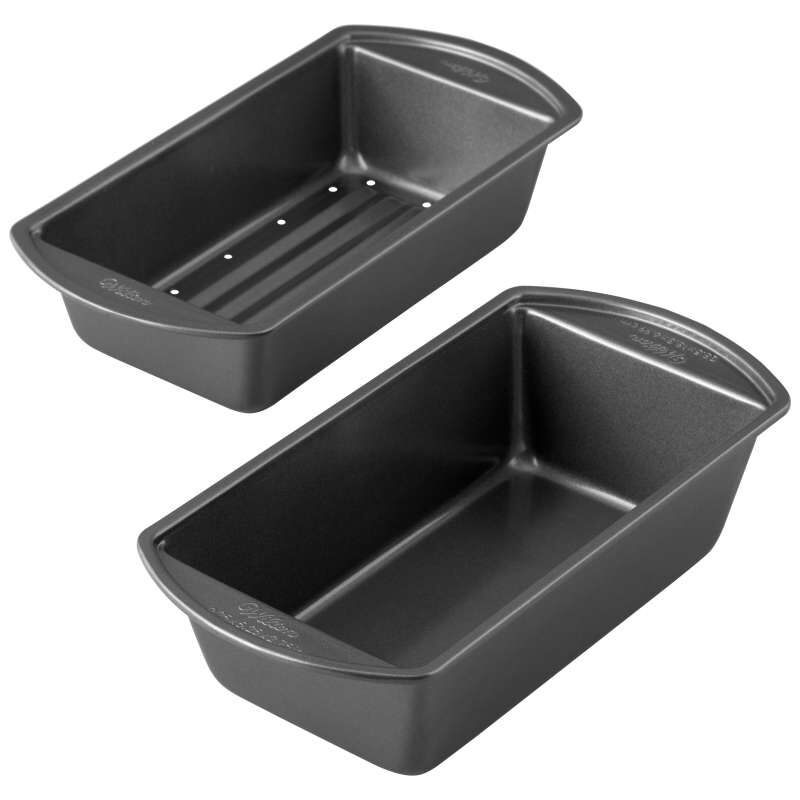 Perfect Results Non-Stick Meatloaf Pan, 2-Piece Set image number 3