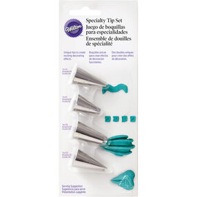 4-Piece Specialty Icing Tip Set