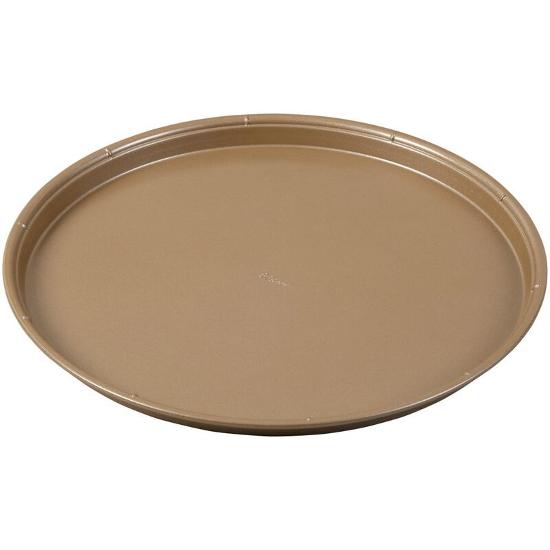 Ceramic-Coated Non-Stick 14-Inch Pizza Pans (2 Pack), Ceramic Pizza Pan Set image number 2