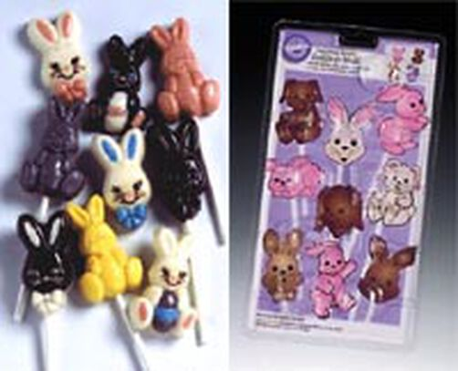 Candy Molds- Multiplying Bunnies