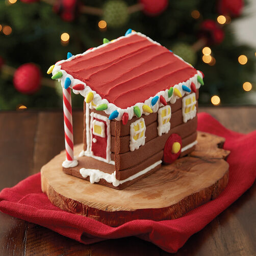 Build it yourself chocolate cookie tiny house decorating kit wilton chocolate cookie tiny house gingerbread house kit solutioingenieria Choice Image