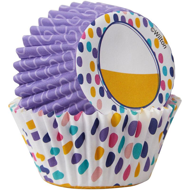 Easter Eggs and Hip Hop Mini Cupcake Liners, 100-Count image number 2