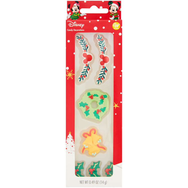 Disney Mickey Mouse Gingerbread Trim Icing Decorations, 0.49 oz.