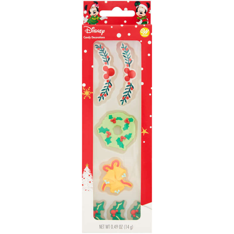 Disney Mickey Mouse Gingerbread Trim Icing Decorations, 0.49 oz. image number 0