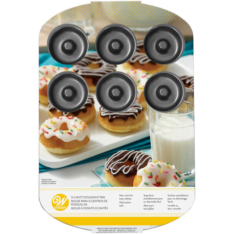 Small Donut Pan, 12-Cavity image number 1