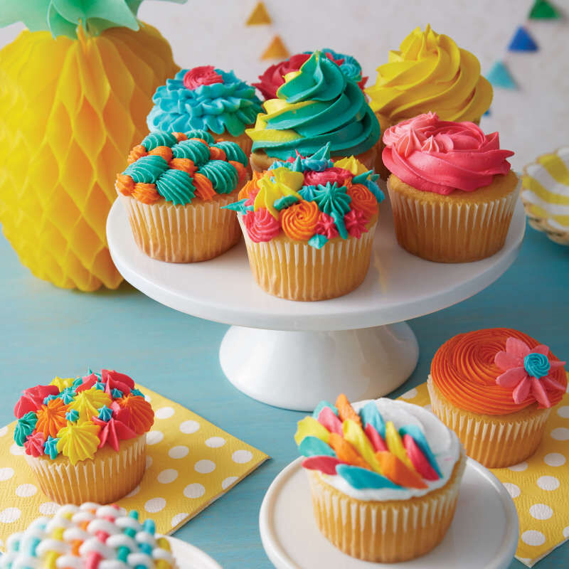 Cupcake Decorating Icing Tips, 12-Piece Set image number 5