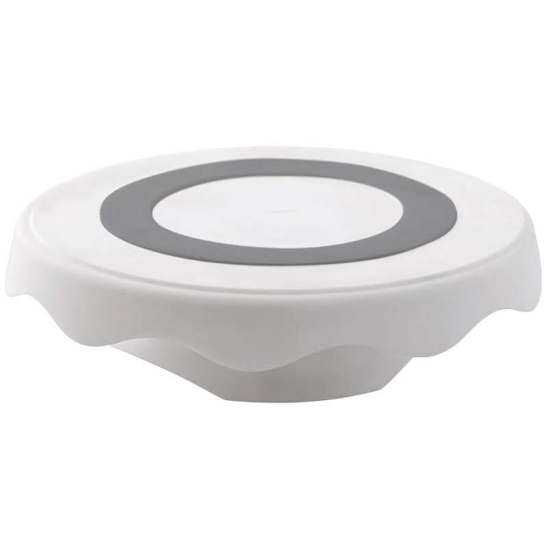High and Low Spinning Cake Turntable Stand, 12.7 in. image number 0
