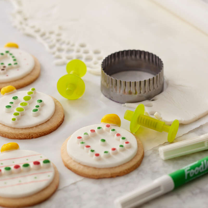 FoodWriter Color Bold Tip Edible Food Markers, 5-Piece image number 5