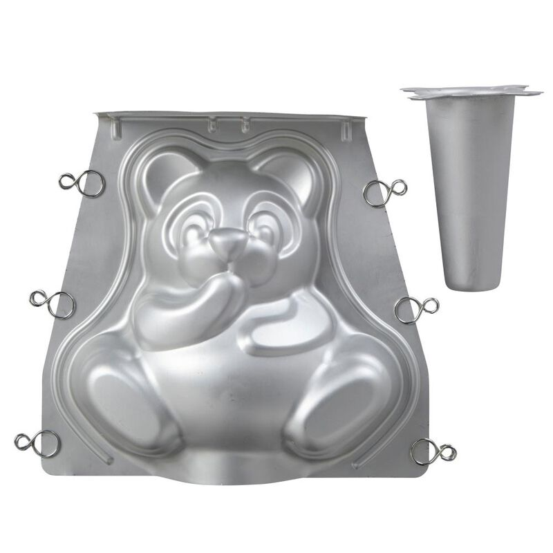 Teddy Bear 3D Cake Pan Set, 2-Piece image number 2