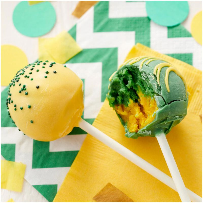Yellow Candy Melts Candy Cake Pops image number 3