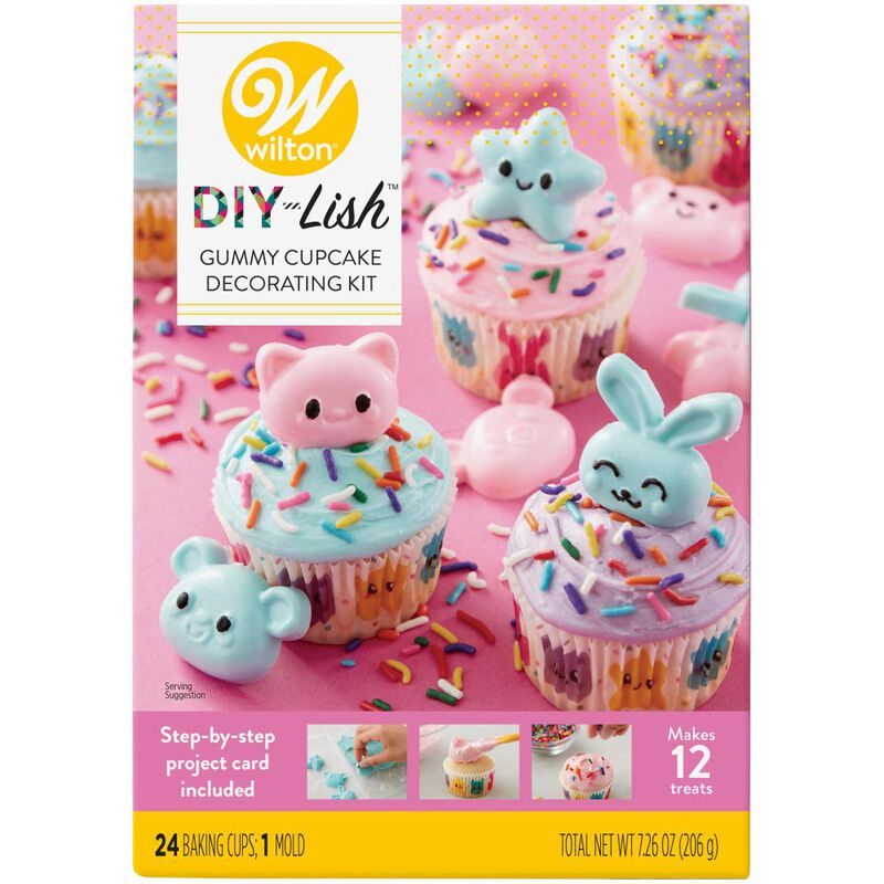 DIY-Lish Gummy Cupcake Decorating Kit image number 2
