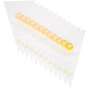 12-Inch Disposable Cake Decorating Bags, 50-Count Pastry Bags