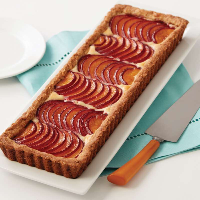 2105-5585-Wilton-Extra-Long-Non-Stick-Tart-and-Quiche-Pan-14-x-45-Inch-L1.jpg image number 3