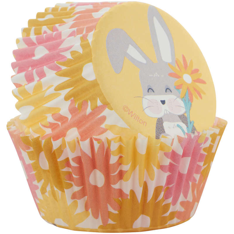 Spring Daisies Baking Cups, 75-Count image number 1