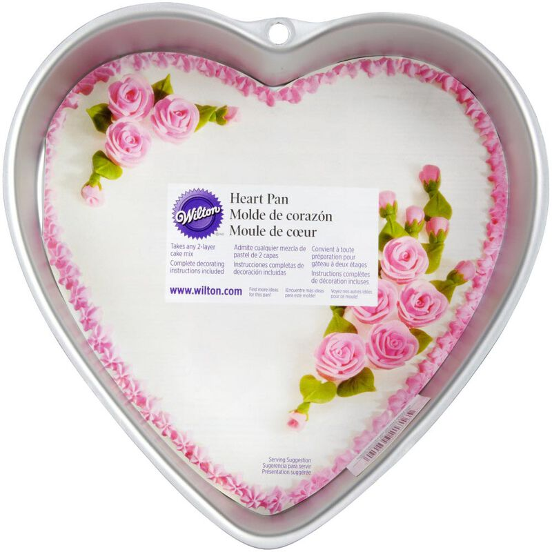 Heart Shaped Cake Pan, 9-Inch image number 1