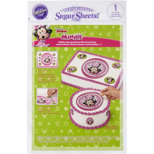 Minnie Mouse Edible Images Cake Decorating Kit