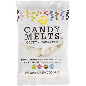 Bright White Candy Melts Candy, 12 oz