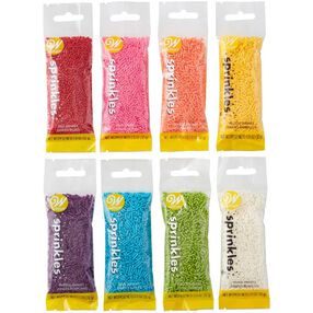 Assorted Jimmies Decorating Set, 8-Piece