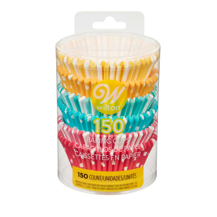Pastel Rainbow Cupcake Liners, 150-Count