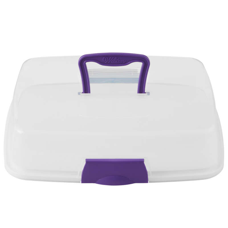 Rectangle Cake Carrier with Cover image number 1