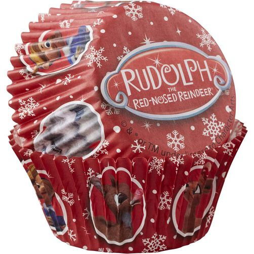 Wilton Rudolph the Red-Nosed Reindeer Cupcake Liners