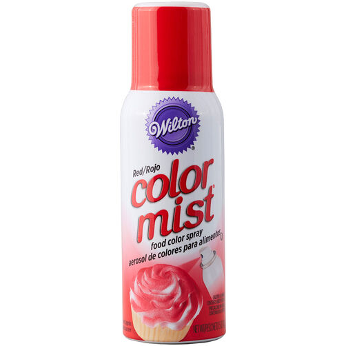 Color Mist Red Food Coloring Spray