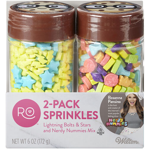 Ro Lightning with Stars and Nerdy Nummies Sprinkles Set