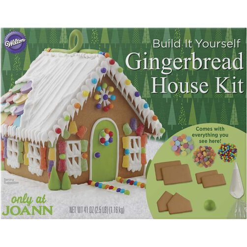 Build it Yourself Gingerbread House Kit