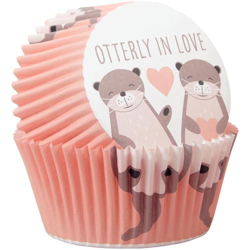 Valentine's Day Otterly in Love Cupcake Decorating Kit image number 3