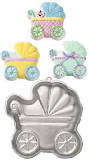 Wilton Cake Pans - Baby Carriage Cake Pan