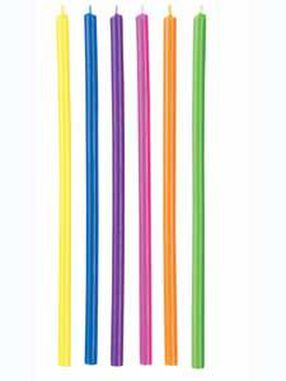 Multicolor Long Candles
