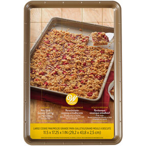 Ceramic Non-Stick Large Cookie Pan, 11.5 x 17.25-Inch
