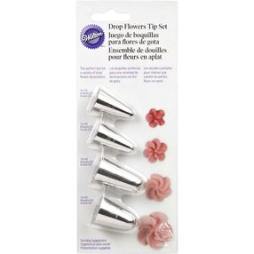 Drop Flowers Piping Tip Set