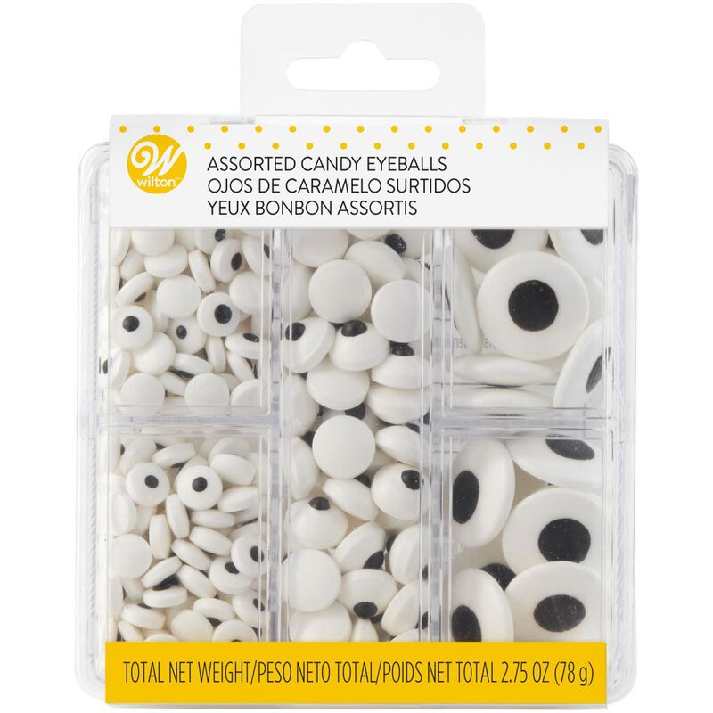 Assorted Candy Eyeballs Tackle Box, 2.75 oz. image number 2