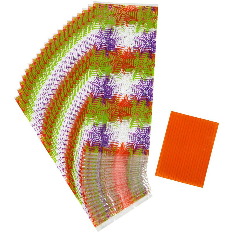 Spider Web Treat Bags, 20-Count image number 0