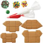 Build it Yourself Welcome to Christmas Mini Village Gingerbread Decorating Kit