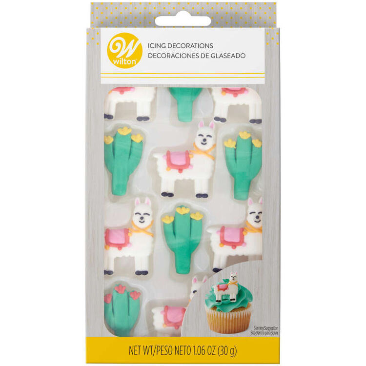 Royal Icing Cactus Decorations, 12-Count