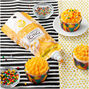 Orange Creme Decorating Icing Pouch with Tips, 7.5 oz.